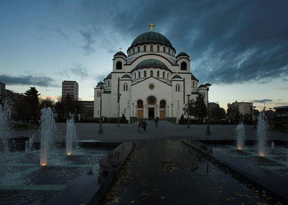Круный православный храм - Храм Святого Саввы Сербского