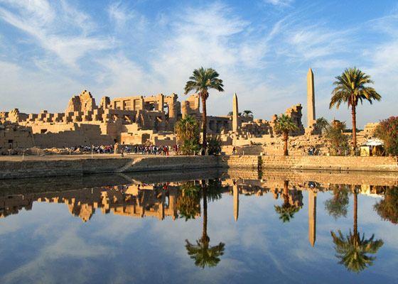 Самый большой храм - Карнакский комплекс в Египте