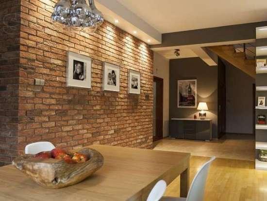 Клинкерная плитка – прекрасная альтернатива отделки стен обоями