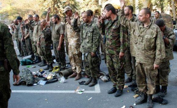 Очередных пленных обменяли ополченцы и украинские силовики