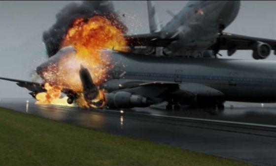 При столкновении двух боингов в Тенерифе погибли около 600 человек