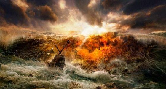 Катастрофы на воде начали происходить с момента, когда люди начали выходить в открытое море