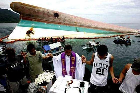 Крушение парома «Донья пас» стало одним из самых страшных кораблекрушений