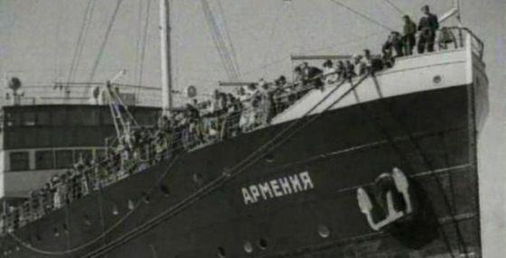 Крушение теплохода «Армения» произошло стремительно