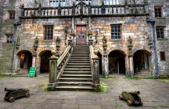 Chillingham Castle is the most famous haunted house.