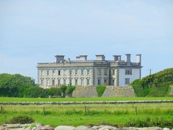 Loftus Hall famous house-castle, overgrown with legends