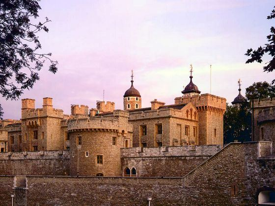 Tower of London - the famous home of British monarchs