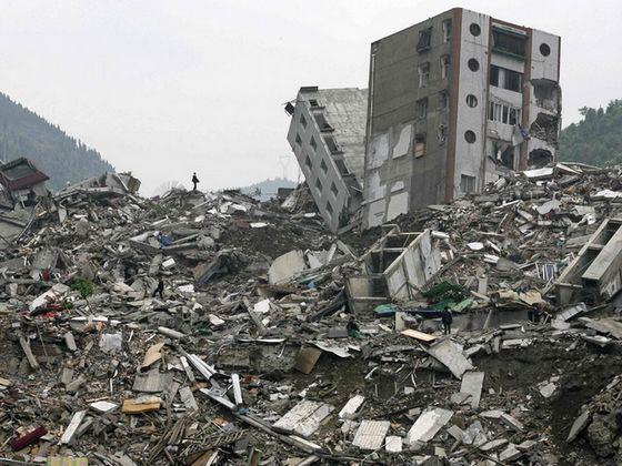 Самое страшное природное явление в мире это землетрясение