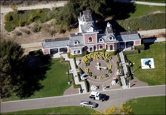 Ранчо Майкла Джексона считается изысканным домом