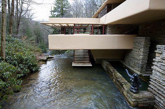 Удивительный дом «Падающая вода»