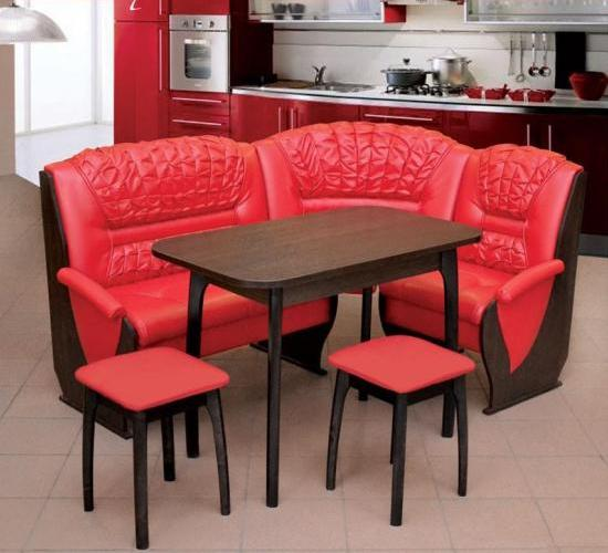 Кухонный уголок – удачное сочетание удобства и функциональности