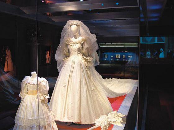 Свадебное платье принцессы Дианы выставлено в музее