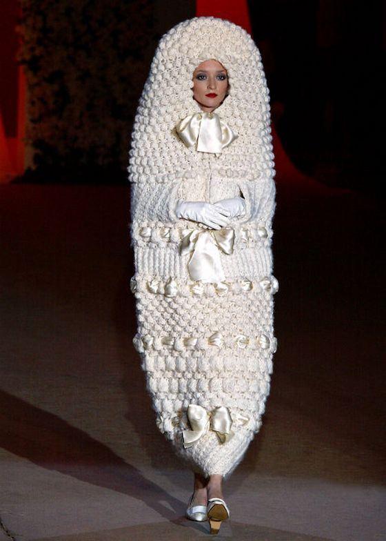 Самое необычное свадебное платье на сегодняшний день