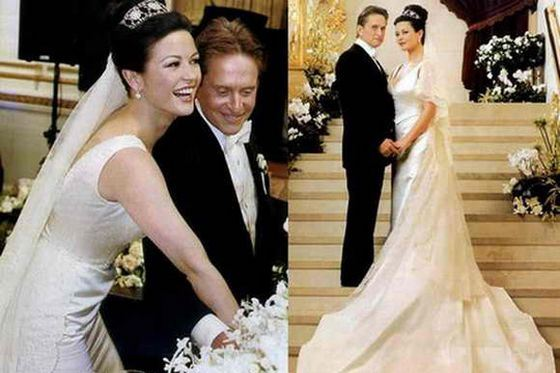 Свадебное платье Кэтрин Зета-Джонс было красивым и безумно дорогим