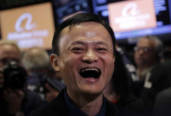 Успешное IPO Alibaba обогатило бывшего учителя английского языка