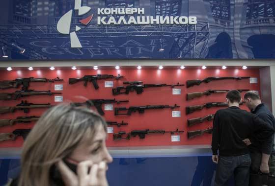 Существующий логотип «Калашникова» не помогает продавать оружие