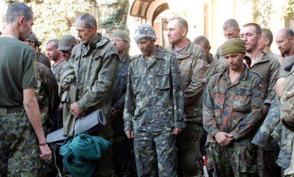 Украинские ВС осуществили очередной обмен пленными с сепаратистами