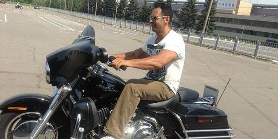 """Nefig show off"": Stas Kostyushkin disgraced himself on a motorcycle"