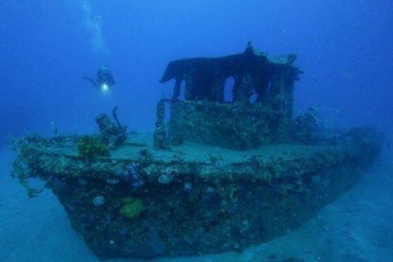 Интересные клады часто находят на затопленных кораблях
