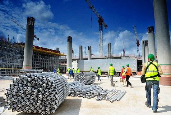 Комплексное снабжение строительства решает проблемы организации работ