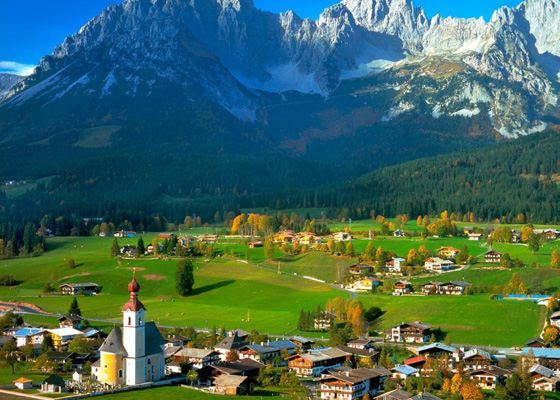 Austria - opens the top of the most expensive countries in the world