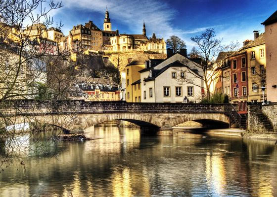 The most expensive country in Europe - Luxembourg