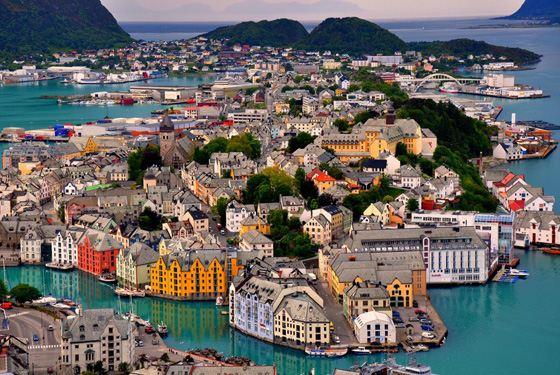 Самая богатая страна Скандинавии - Норвегия