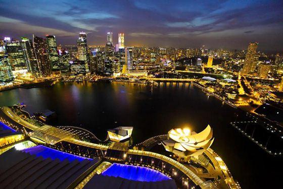 Сингапур - самая богатая страна в Азии