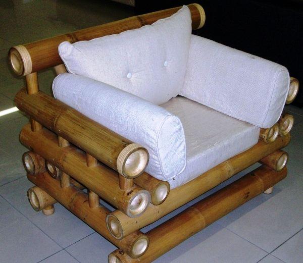Бамбуковое кресло