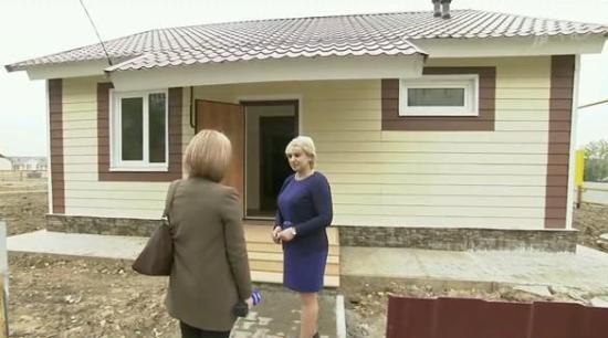 Для пострадавших от наводнения жителей Хабаровска построили новые дома