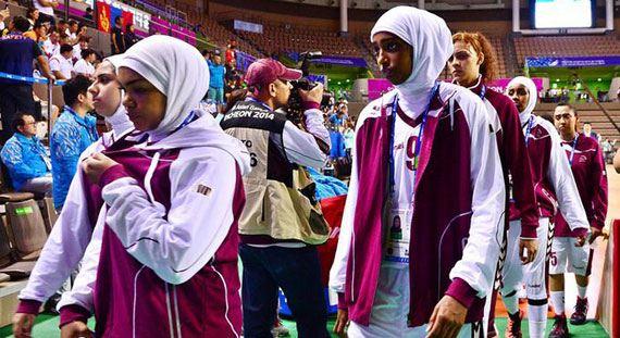 Спортсменки Катара снялись с Азиатских игр из-за запрета на игру в хиджабах