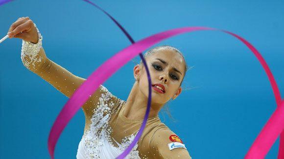 Российская сборная по художественной гимнастике завоевала «золото» в командном зачете на ЧИ