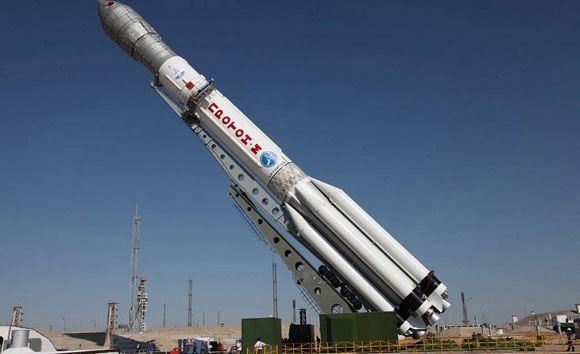 Ракета-носитель «Протон-М» со спутником «Луч» успешно стартовала с космодрома