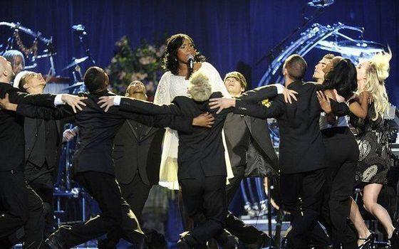 Похороны Майкла Джексона больше были похожи на спектакль
