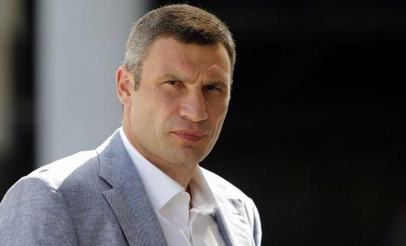 Мэр Киева Кличко принял участие в забеге «Сильные духом»