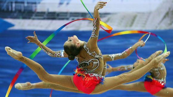 Российские гимнастки завоевали восемь золотых медалей на ЧМ