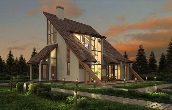 Каркасный дом - лучшее сочетание цена/качество в строительстве