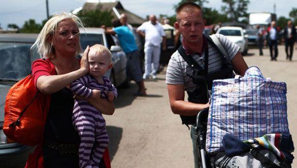 Почти половина россиян высказалась за скорейшую отправку беженцев с Украины домой