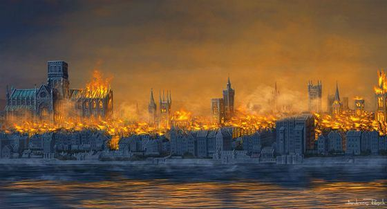 Самые известные пожары в мире