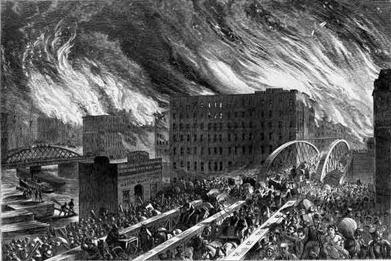 Великий пожар в Чикаго