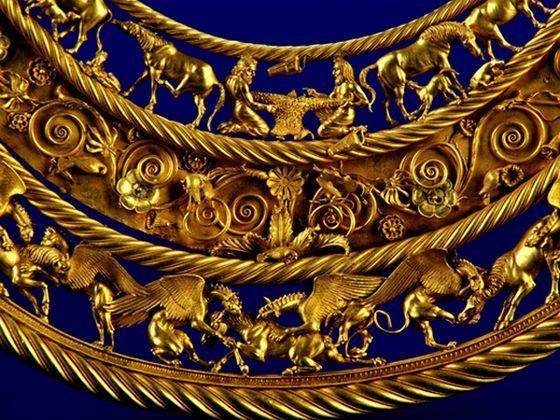 Клад золото скифов стал скандально известным