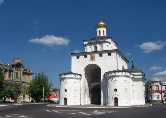 According to legend, the Golden Gate in Vladimir still keeps treasure
