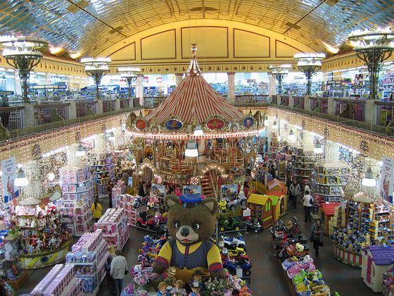 Детский мир - самый известный детский магазин в Москве