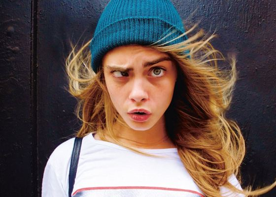 Cara Delevingne has her own style