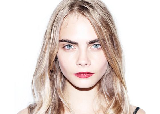 Cara Delevingne's eyebrows have become her hallmark