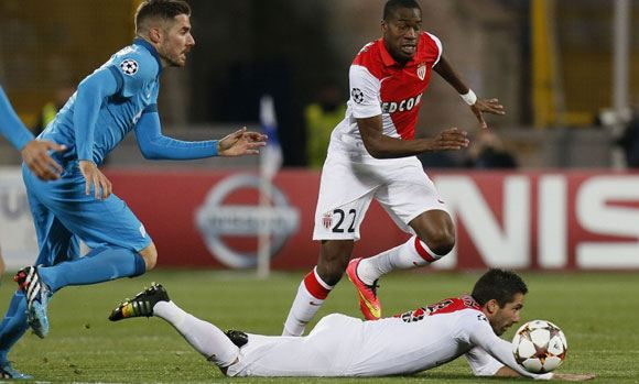 «Зенит» и «Монако» не забили друг другу голов