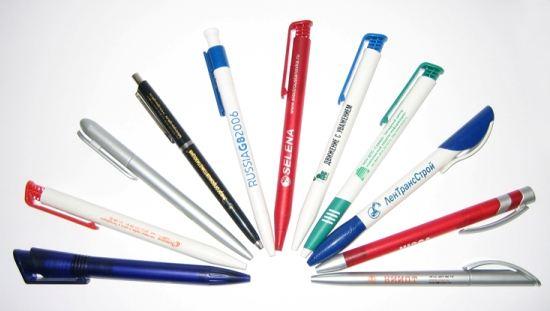 Ручки с логотипом – эффективный инструмент рекламы