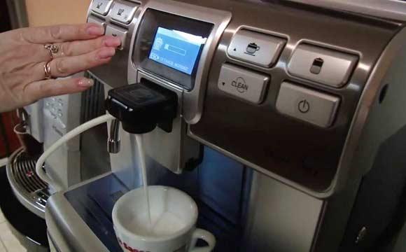 Кофе-машина Saeco Aulika, представленная в каталоге Энтеро, готовит идеальный эспрессо