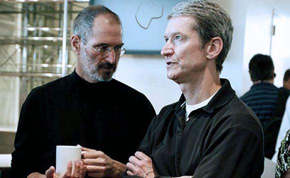 Тим Кук вспомнил о Стиве Джобсе