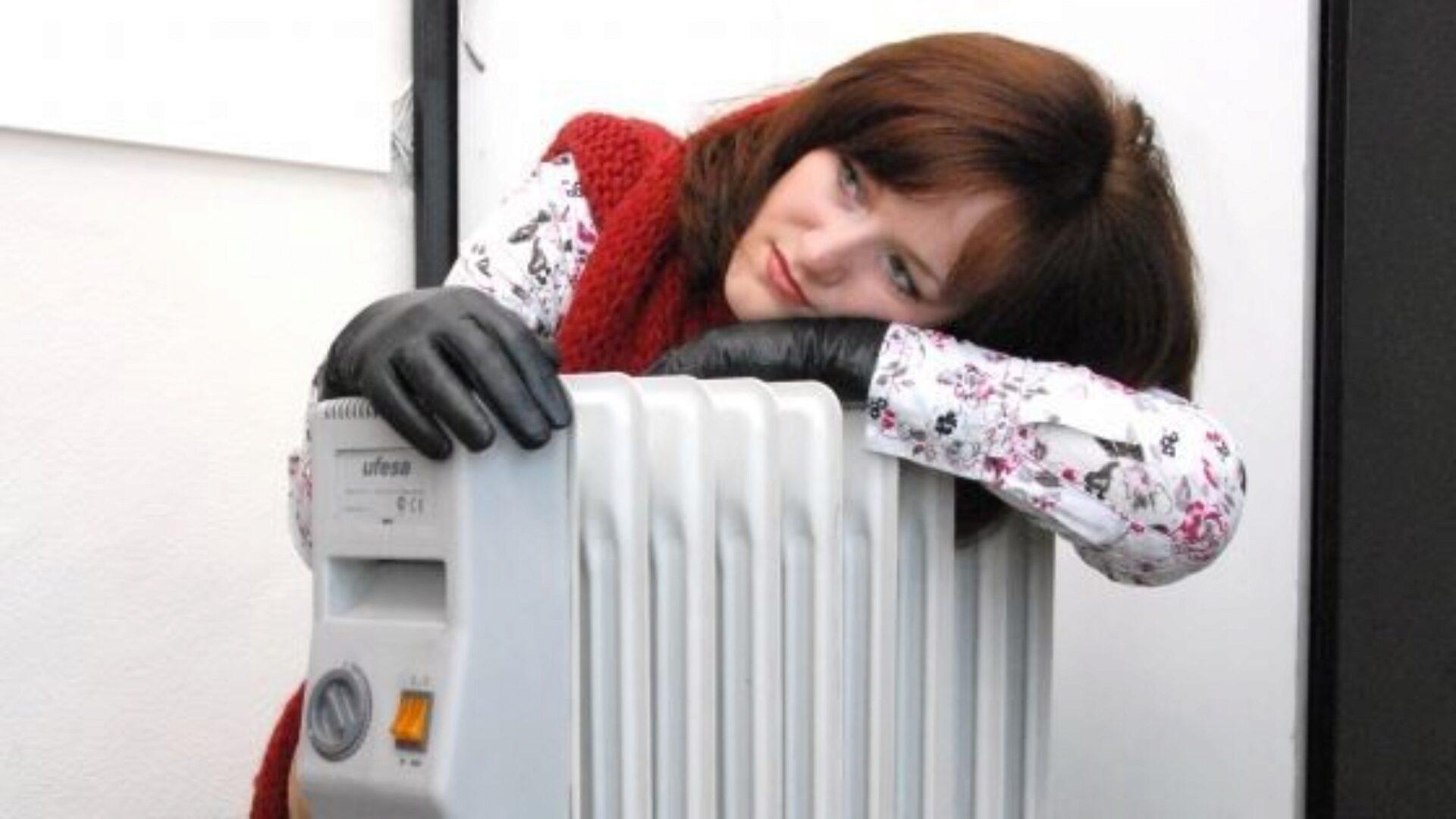 Иногда от холода спасает только обогреватель